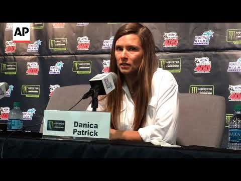 Danica Patrick's Tearful Farewell To Full-Time Racing