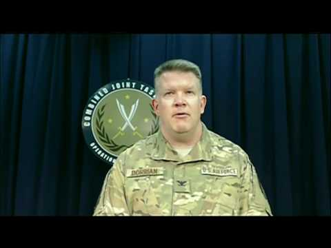 NATO: MOSUL/RAQQA. Col. Dorrian Updates & Answers Press Questions On the Battles.