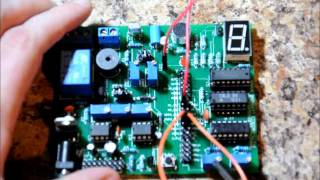 """Project#19 """"AC Alarm & Challenge"""" - The Multi Project Electronics Learning Board"""