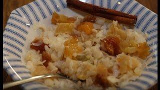 Юлия Высоцкая — Рисовая каша с корицей, медом и сухофруктами