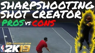 6'6 Sharpshooting Shot Creator Pros and Cons (90 OVERALL SG) PARK GAMEPLAY