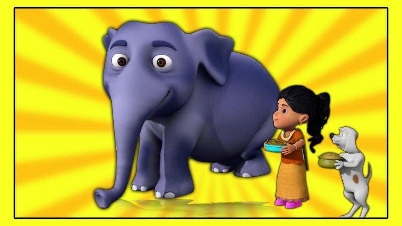Hathi Raja Hindi Nursery Rhymes | हाथी राजा कहाँ चले | Kids Tv India |  Hindi Nursery Rhymes