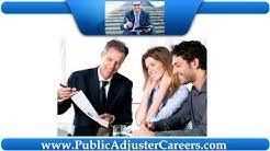 How to get started as a Licensed Public Adjuster - Free Training