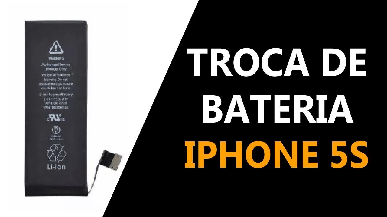 Como trocar a bateria do iPhone 5S