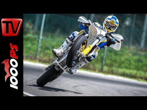 Husqvarna FS 450 - 2015 Supermoto Action Video Foto