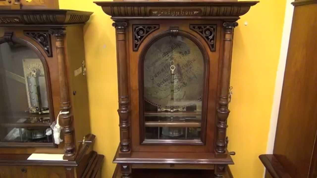 Polyphon Antique Disc Music Box