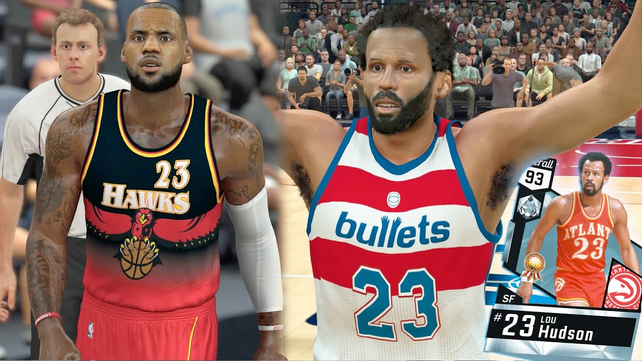NBA 2k17 MyTeam Diamond 93 OVR Lou Hudson Debut vs 99 Kobe and