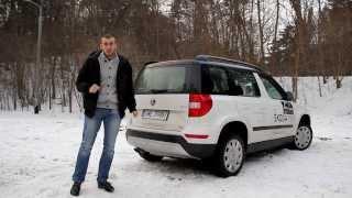 2014 Nowa Skoda Yeti Facelifting Fl Outdoor 1.8 TSI 160 4x4 - polski test [PL]