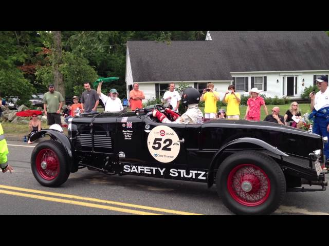 1928 Stutz Black Hawk - Wilbraham Auto Hill Climb 7/13/2013