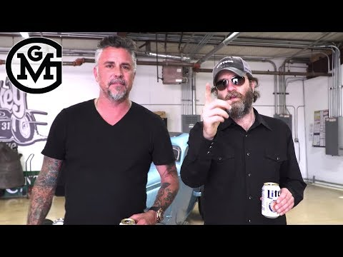 Gas Monkey - Wheeler Walker Jr. Tours Gas Monkey Garage With Richard Rawlings