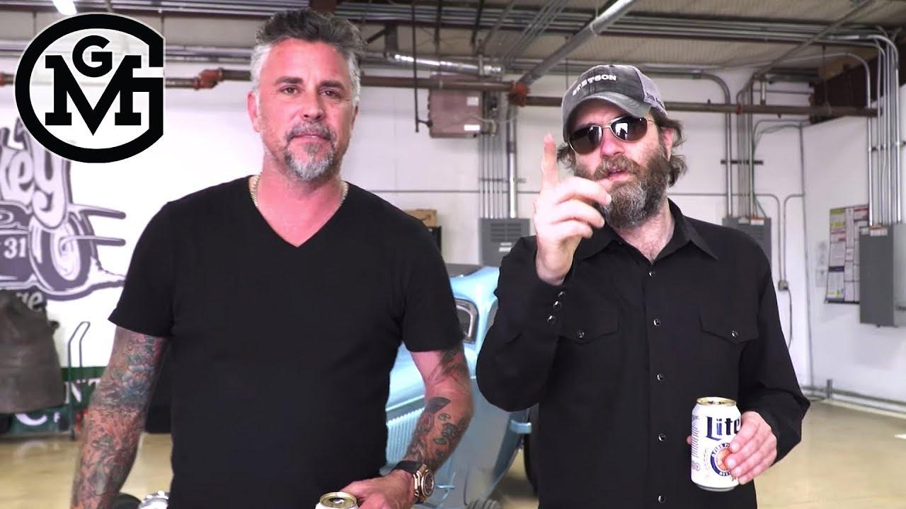 Grease Monkey Garage >> Gas Monkey Wheeler Walker Jr Tours Gas Monkey Garage With Richard Rawlings