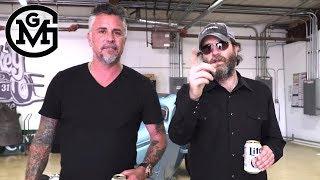 Gas Monkey - Wheeler Walker Jr. Tours Gas Monkey Garage With Richard Rawlings