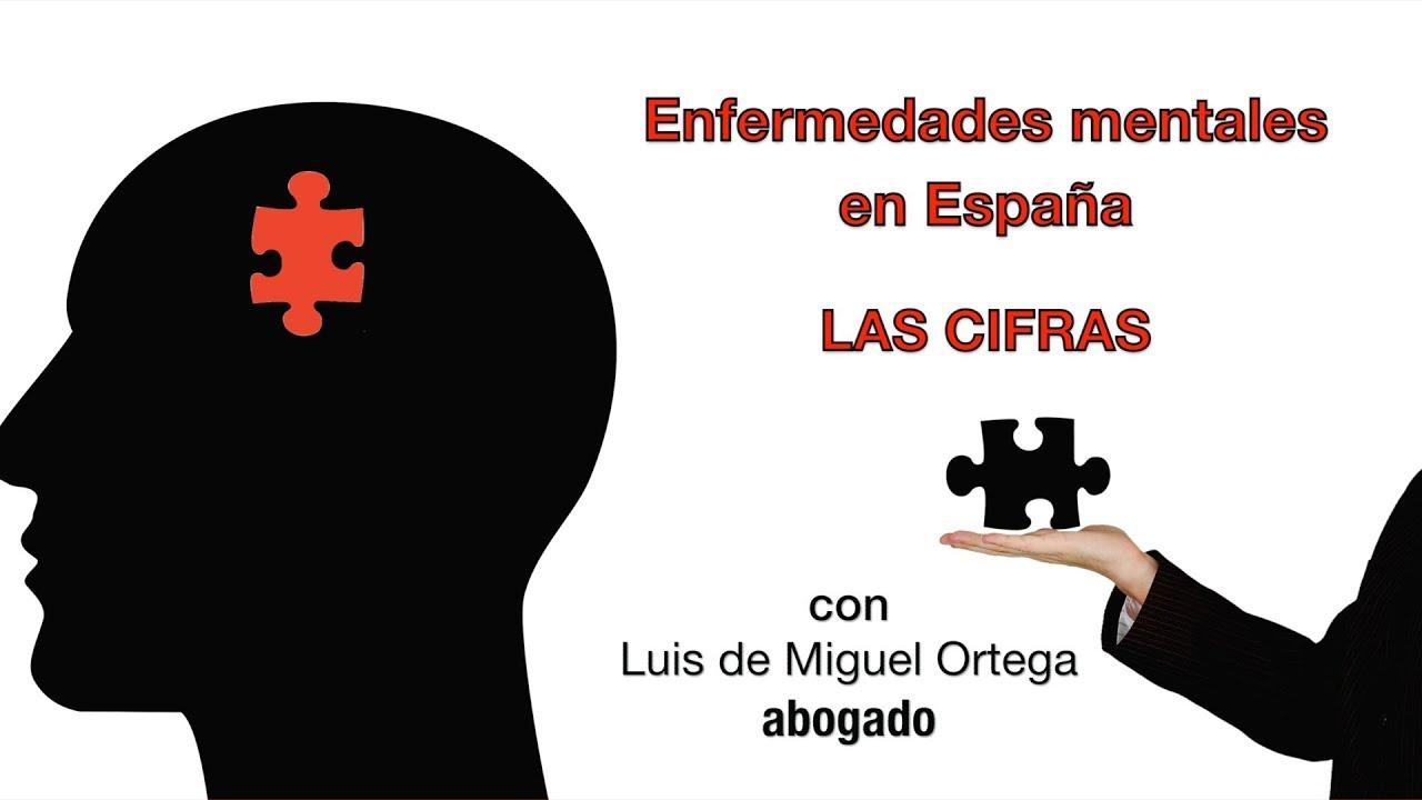 Las enfermedades mentales en España, las cifras