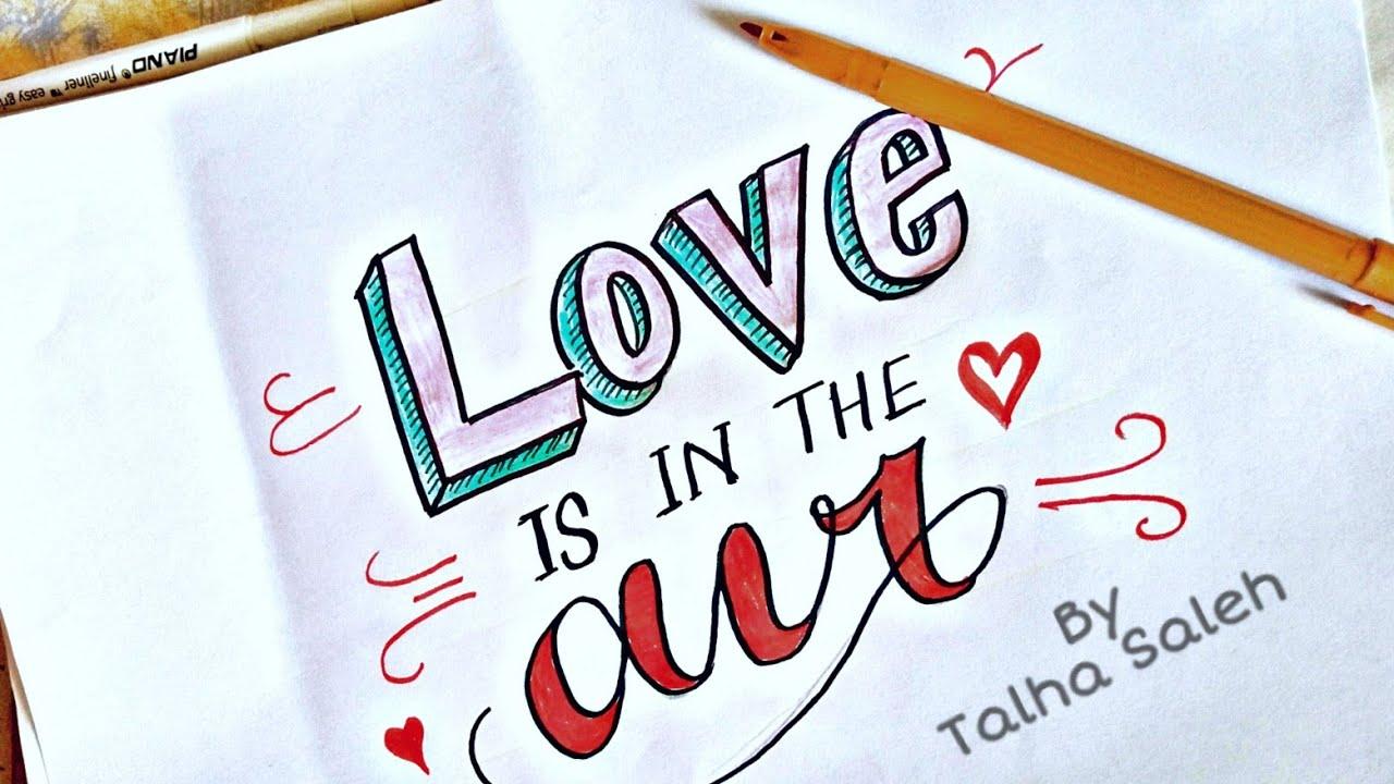 Beautiful English handwriting style   Calligraphy   Talha ...