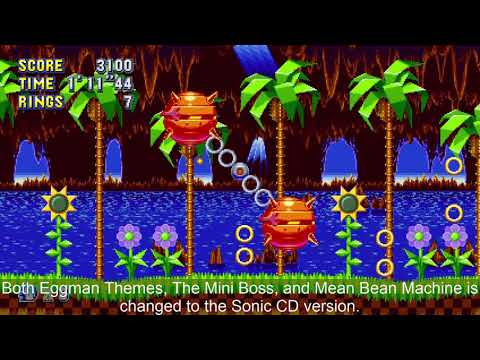 Sonic Mania - CD Music Mod