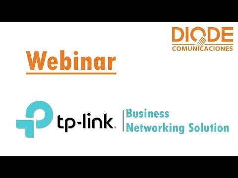 Webinar Diode TP-Link - Hotspot con Facebook Login, SMS Login y Advertisement
