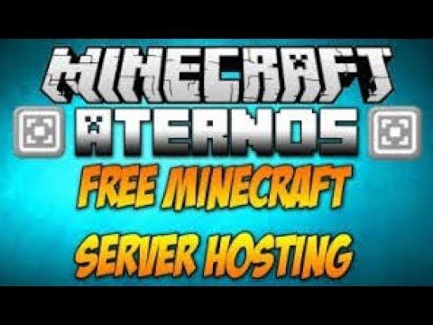 Атернос хостинг minecraft бесплатно хостинг хранения файлов