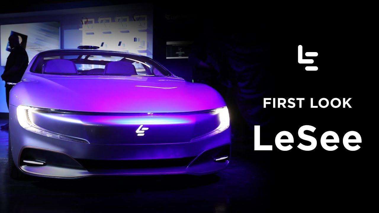 LeEcos Lesee Autonomous Electric Car Concept