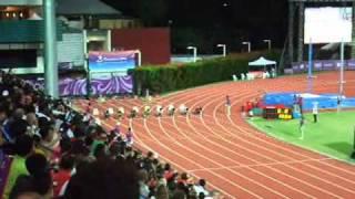 1st Summer Youth Olympic Games Athletics Boys 100m A Final