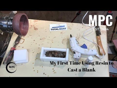 Casting a Resin Blank - Did I Fail????