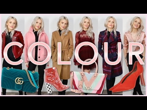 HOW TO MIX COLOUR INTO YOUR OUTFITS AND WARDROBE