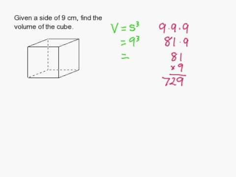 How to find the volume of a cube youtube how to find the volume of a cube ccuart Gallery
