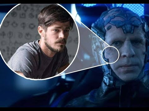 Why Is The Flash Secret Symbols Tattooed On The Thinker Plus Batman Easter Egg - The Flash Season 4