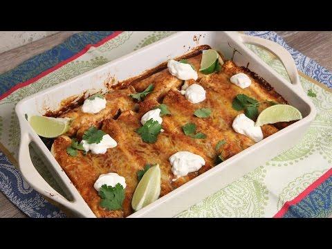 One-Pan Beef Enchiladas