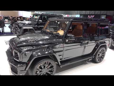 [4k] Brabus G800 Geländewagen 800 HP in Geneva 2015 Mercedes G63 AMG or G65 AMG based