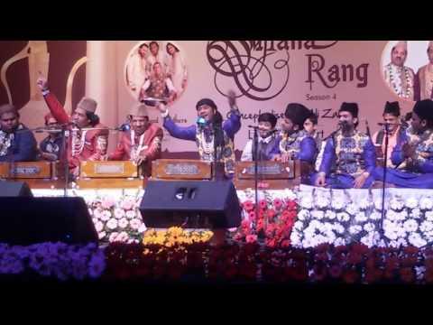 Sufiana Rang With Hamsar Hayat Nizami And Nizmi Brothers On 11th March 2017 At Kamani Auditorium
