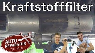 Benzinfilter wechseln | Kraftstofffilter BMW E46 tauschen | Auto Tutorial