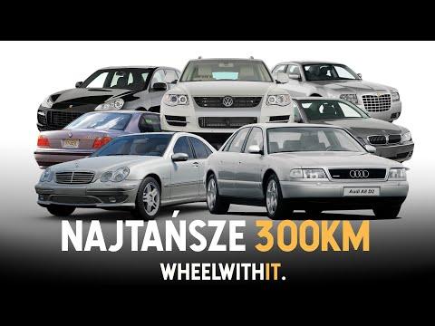 10 najtańszych aut z mocą powyżej 300KM