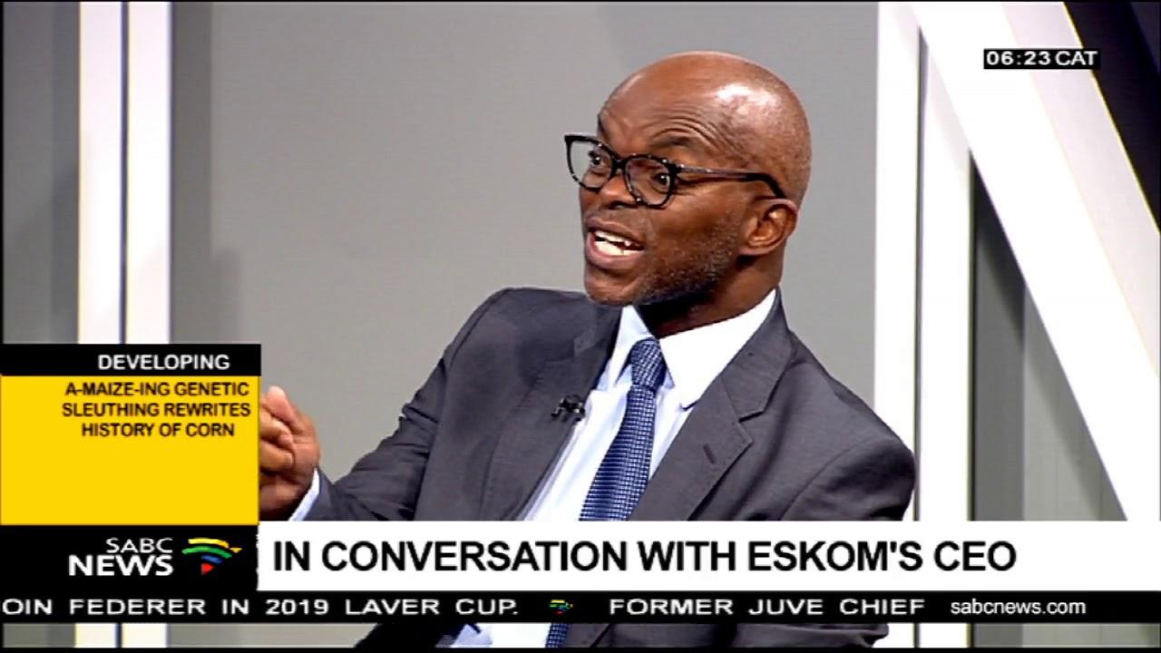 In conversation with Eskom's CEO Part 1