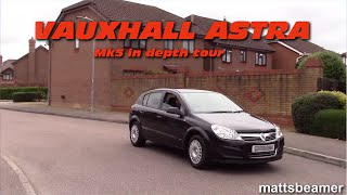 2008 Vauxhall Astra H Mk5 hatchback 1.7CDTI hatchback. Interior, exterior detailed in depth tour