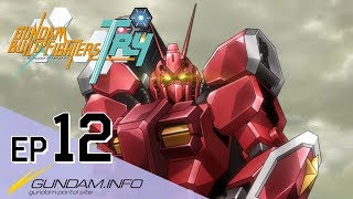 GUNDAM BUILD FIGHTERS TRY-Episode 12: To Fly To the Future (ENG sub)