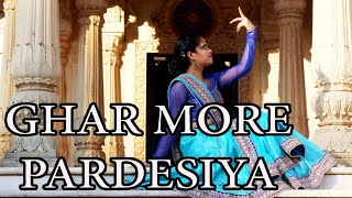 || Ghar more pardesiya || Dance video || Choreography by Sandhya || True guy's dance ||