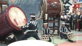 2013年6月21日(金)静岡県富士市にある道の駅、富士川楽座で 富...
