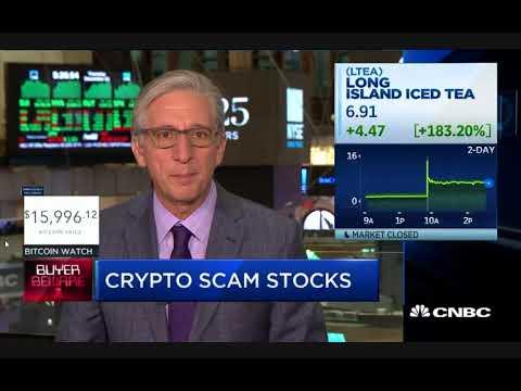 Buyer Beware:  Crypto Scam Stocks!
