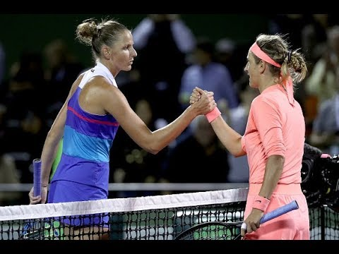 2018 Miami Quarterfinals | Victoria Azarenka vs. Karolina Pliskova | WTA Highlights