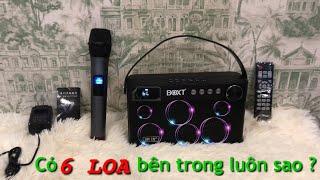 Loa Karaoke mini nhiều CỦ LOA nhất thế giới - 6 LOA trong 1 - Q5 - 1tr950k