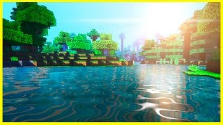 Minecraft PE - TOP 3 BEST SHADERS Texture Packs - iOS / Android - MCPE 1.4 / 1.2