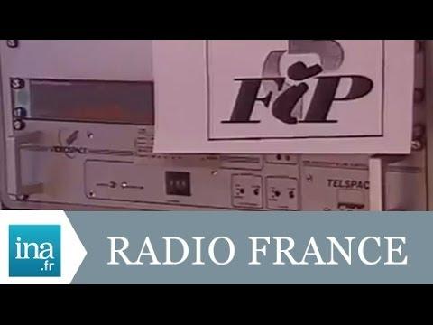 Radio France Lyon disparaît au profit de FIP - Archive INA