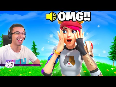 this kid FREAKS OUT when he finds out I'm his teammate!