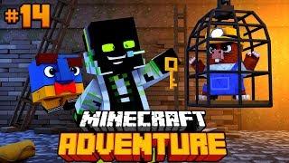 INS GEFNGNIS MIT BENEDIKT - Minecraft Adventure 14 DeutschHD