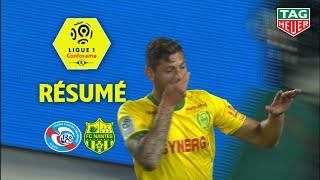 RC Strasbourg Alsace - FC Nantes ( 2-3 ) - Résumé - (RCSA - FCN) / 2018-19