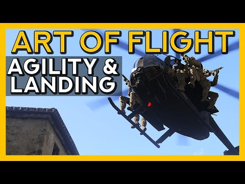 Agility & Landing - Art of Flight, Episode 12 - Arma 3