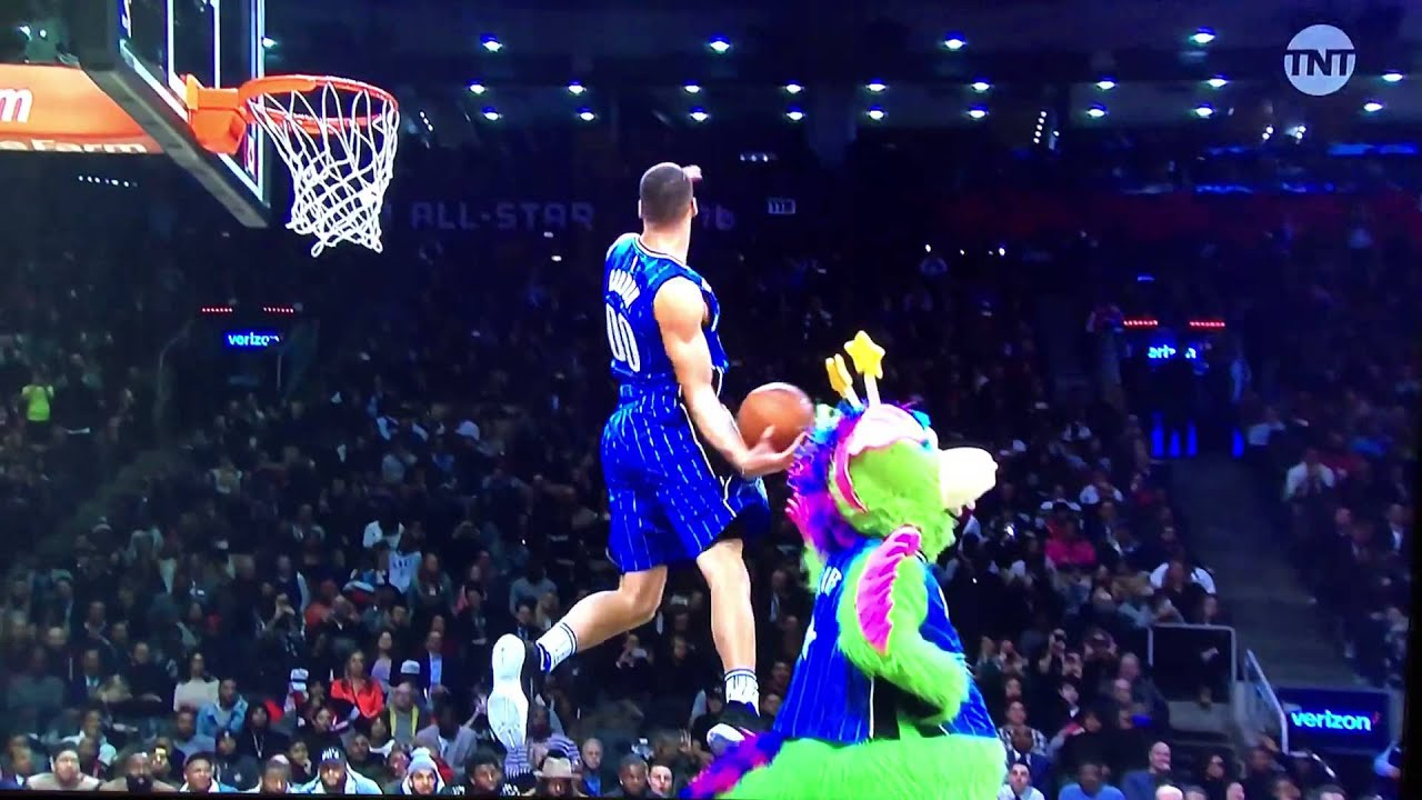 Aaron Gordon 2nd Dunk In The 2016 NBA Contest