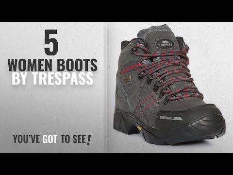 eff02e05677 Top 10 Trespass Women Boots [2018]: Ridgeway Womens Ladies ...