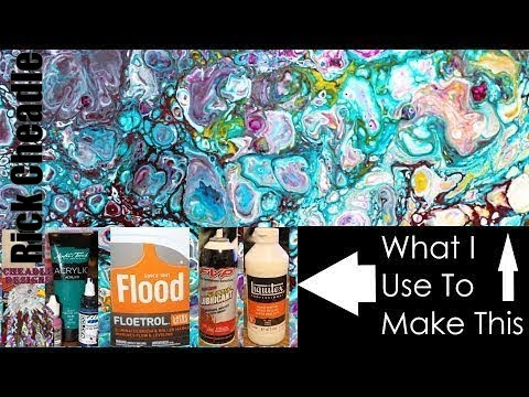 Acrylic Pouring Mixing Ratios Explained Dirty Pour Example