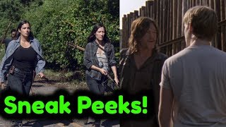 The Walking Dead Episode 9x10 'Henry Betrays Daryl & Tara Leads' 4 Sneak Peek Breakdowns!